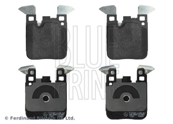 ADB114247 BLUE PRINT Hinterachse, für Verschleißwarnanzeiger vorbereitet Breite: 88,4mm, Dicke/Stärke 1: 17mm Bremsbelagsatz, Scheibenbremse ADB114247 günstig kaufen