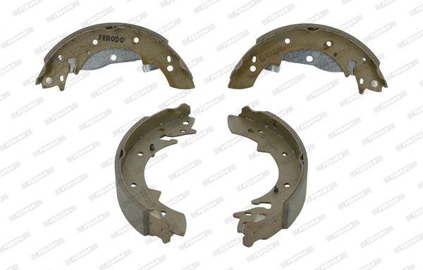 FERODO: Original Bremsbacken für Trommelbremse FSB173 (Trommel-Ø: 229mm, Dicke/Stärke: 4,5mm, Breite: 42mm)