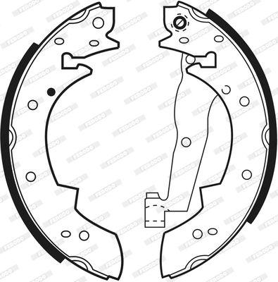 FSB173 Bremsbacken FERODO FSB173 - Große Auswahl - stark reduziert