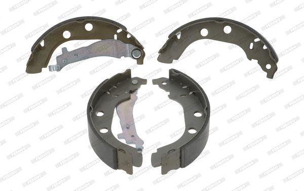 FSB547 FERODO PREMIER Trommel-Ø: 228mm, Dicke/Stärke: 5mm, Breite: 42mm Bremsbackensatz FSB547 günstig kaufen
