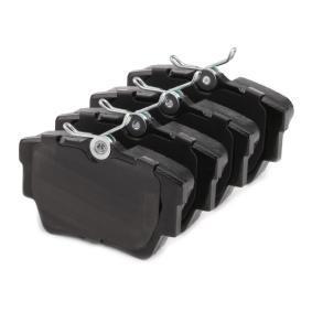 FVR1516 Bremsbelagsatz, Scheibenbremse FERODO 23980 - Große Auswahl - stark reduziert