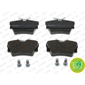 FVR1516 Bremsbelagsatz, Scheibenbremse FERODO Erfahrung