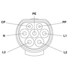 1404568 Ladekabel, Elektrofahrzeug PHOENIX CONTACT in Original Qualität