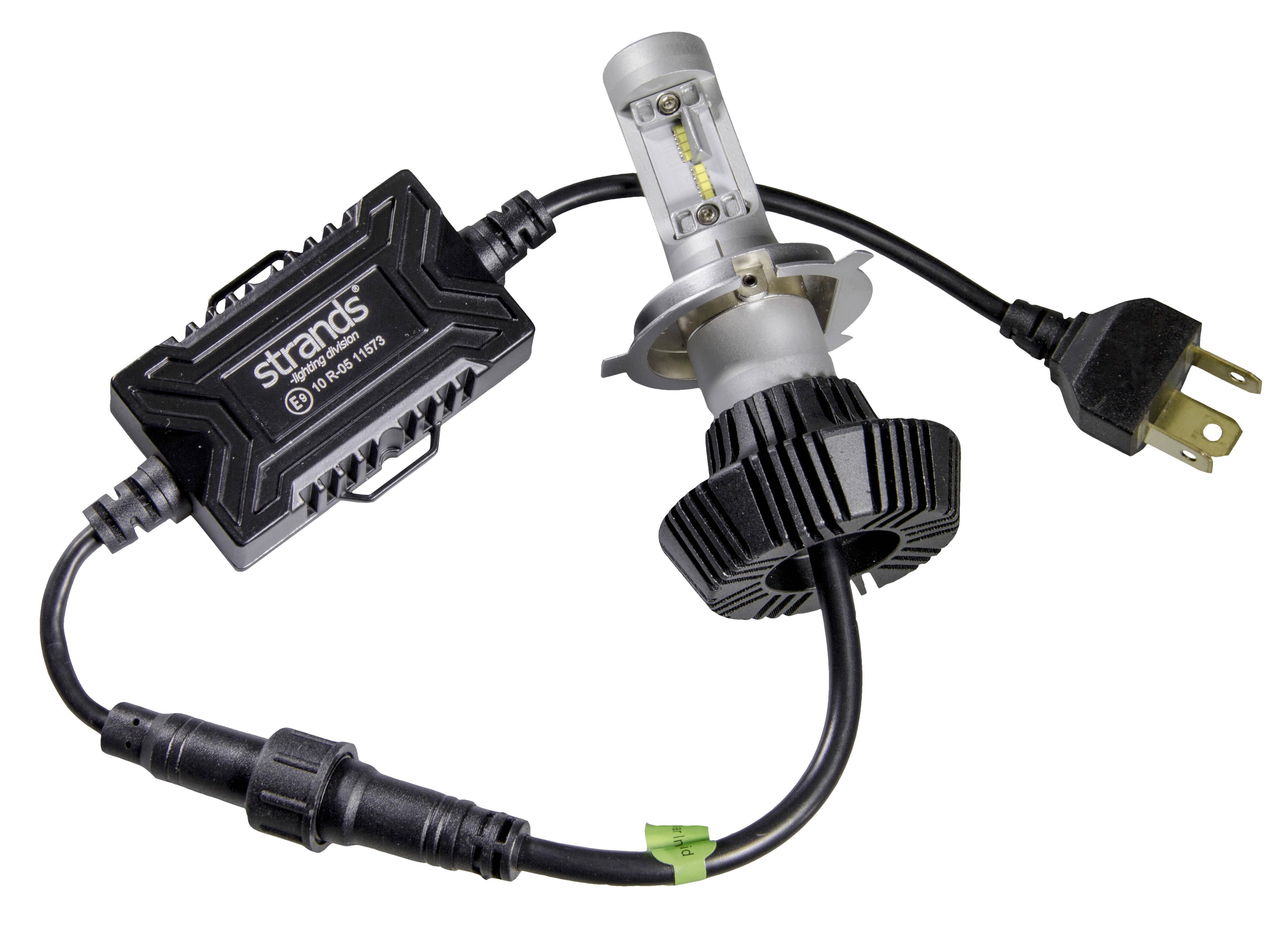 STRANDS Glödlampa, fjärrstrålkastare H4 12-24VLED 280804 PUCH