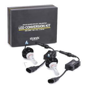 2808HB3 STRANDS 12-24V DCV, H1, LED Färgtemperatur: 6500K Glödlampa, fjärrstrålkastare 2808HB3 köp lågt pris