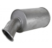 61718VL VANSTAR Middle- / End Silencer - buy online