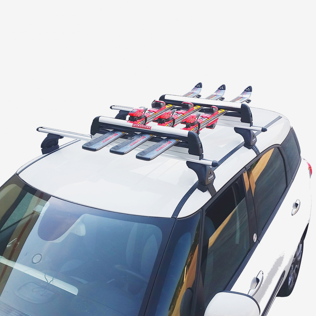 6801900 Porta-esquis / pranchas de snowboard, porta-bagagens tejadiho FABBRI - Experiência a preços com desconto