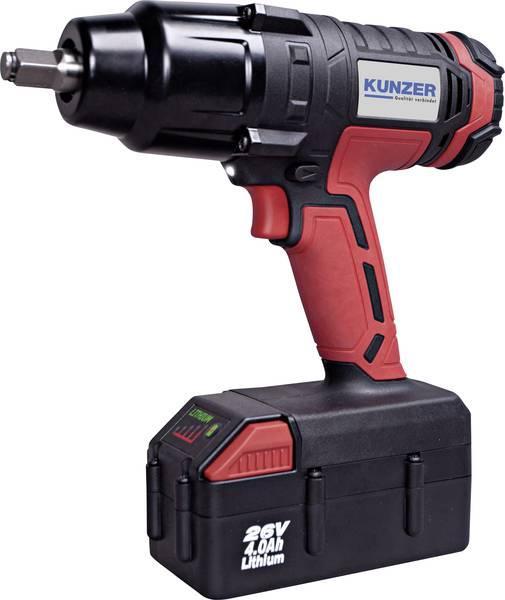 7ASS05 KUNZER Spannung: 26V, Batterie-Kapazität: 4Ah, mit Batterie, Drehmoment bis: 700Nm Akkuschrauber 7ASS05 günstig kaufen