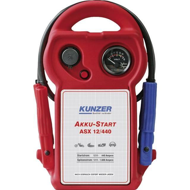 ASX 12/440 KUNZER Batterie-Kapazität: 12Ah, mit Batteriezustandsanzeige Starthilfegerät ASX 12/440 günstig kaufen