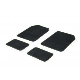 01765719 DBS Universell passform Textil, fram och bak, Antal: 4, svart, grön Storlek: 73х46 Set med golvmatta 01765719 köp lågt pris