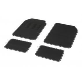 01765759 DBS STANDARD, Universelle passform Textil, vorne und hinten, Menge: 4, schwarz, weiß Größe: 72х45 Fußmattensatz 01765759 kaufen