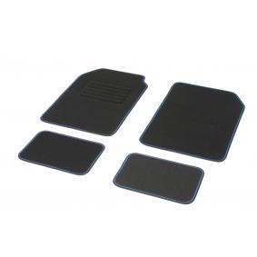 01765760 DBS STANDARD, Universelle passform Textil, vorne und hinten, Menge: 4, schwarz, blau Größe: 72х45 Fußmattensatz 01765760 kaufen