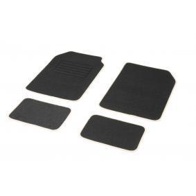 01765762 DBS STANDARD, Universelle passform Textil, vorne und hinten, Menge: 4, schwarz, weiß Größe: 73х46 Fußmattensatz 01765762 kaufen
