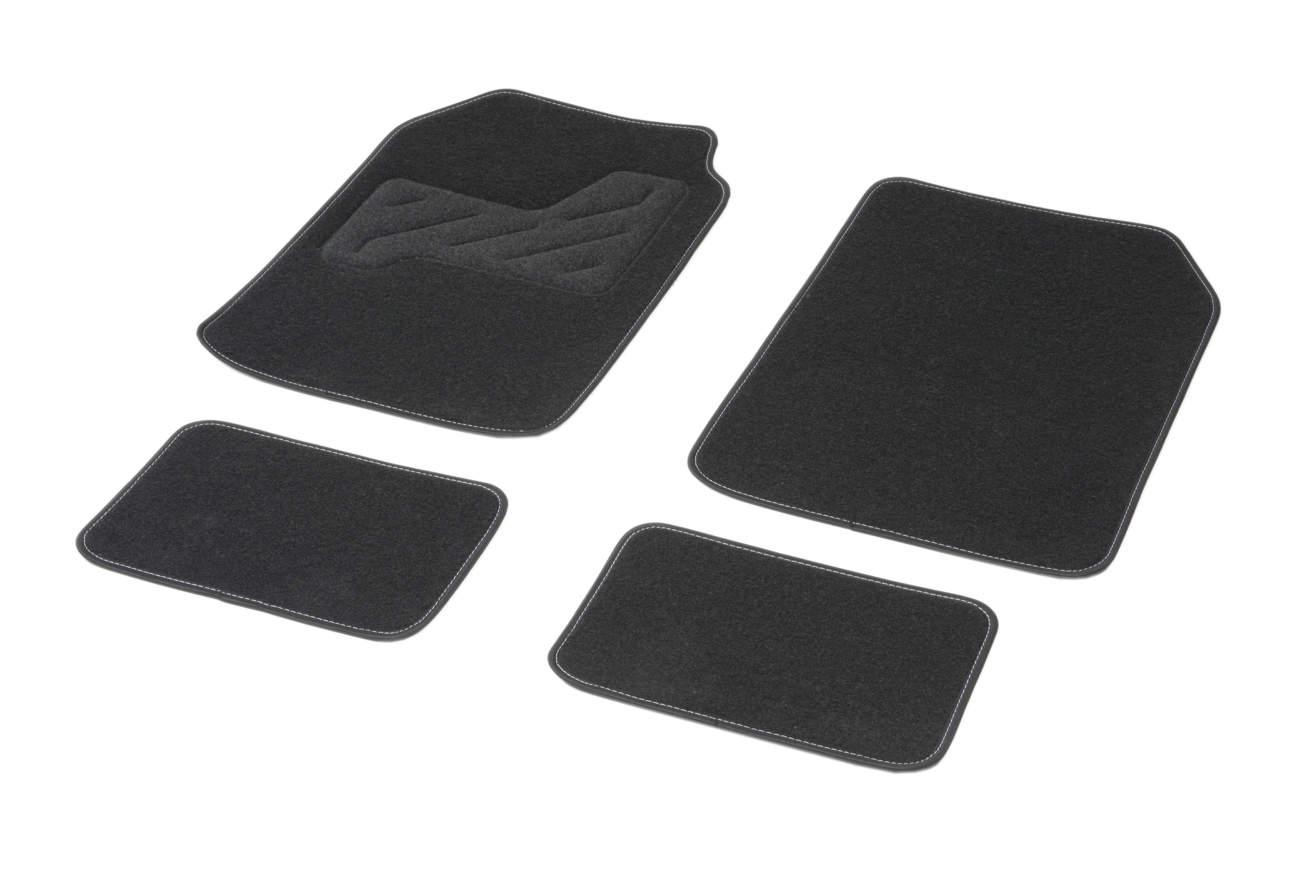 01765764 DBS Universelle passform, STANDARD Textil, vorne und hinten, Menge: 4, schwarz Größe: 73х45 Fußmattensatz 01765764 kaufen