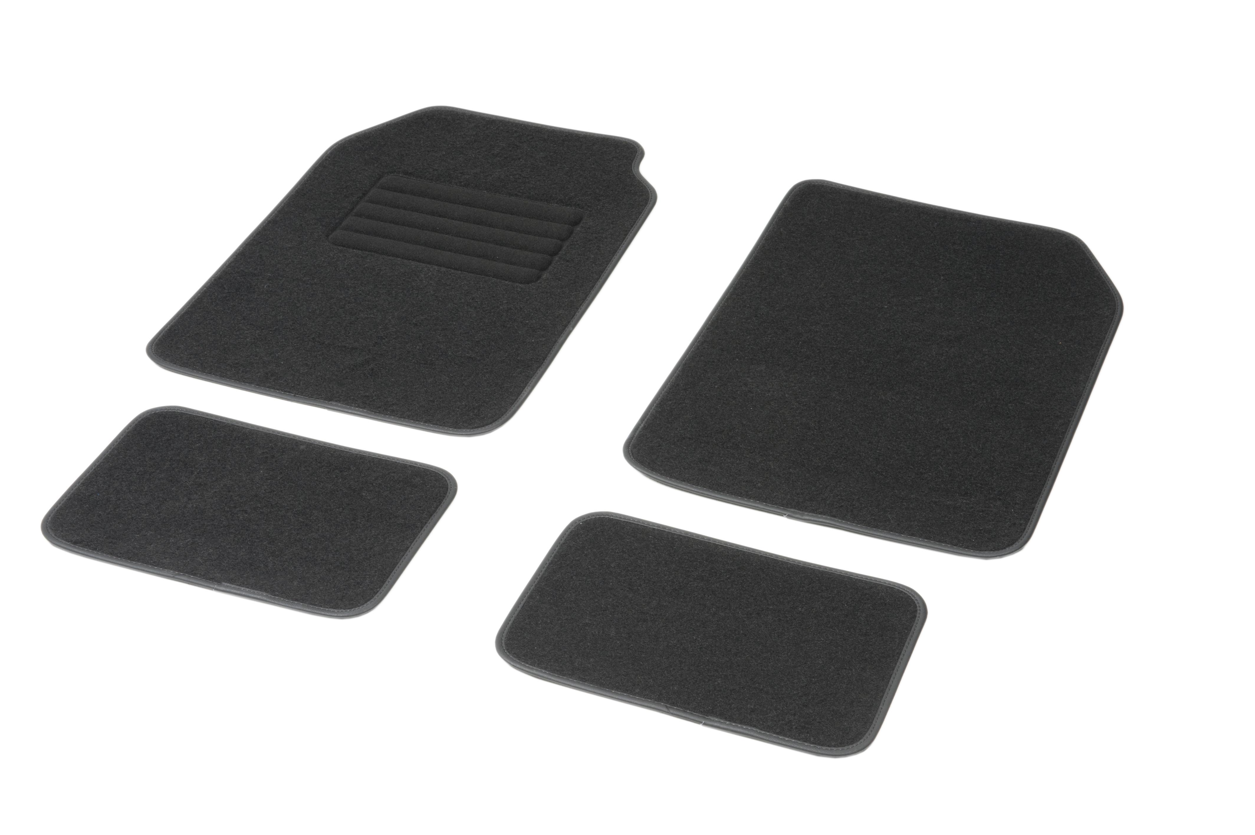 Achat de 01765765 DBS Adaptation universelle, STANDARD Textile, avant et arrière, Quantité: 4, noir Taille: 7х46 Ensemble de tapis de sol 01765765 pas chères