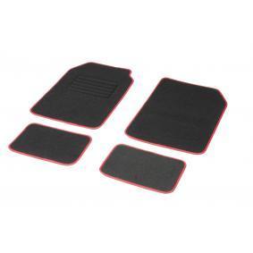 01765766 DBS STANDARD, Universell passform Textil, fram och bak, Antal: 4, svart, röd Storlek: 73х46 Set med golvmatta 01765766 köp lågt pris