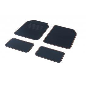 01765794 DBS Universell passform Textil, fram och bak, Antal: 4, svart, orange Storlek: 73х46 Set med golvmatta 01765794 köp lågt pris