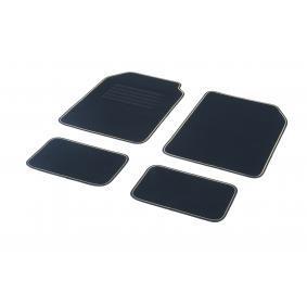 01766467 DBS STAR, Universelle passform Textil, vorne und hinten, Menge: 4, schwarz, gelb Größe: 73х46 Fußmattensatz 01766467 kaufen
