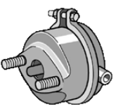 LKW Kolbenbremszylinder KNORR-BREMSE K015589N00 kaufen