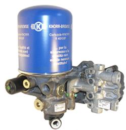 KNORR-BREMSE Osuszacz powietrza, instalacja pneumatyczna do MITSUBISHI - numer produktu: K043833N00