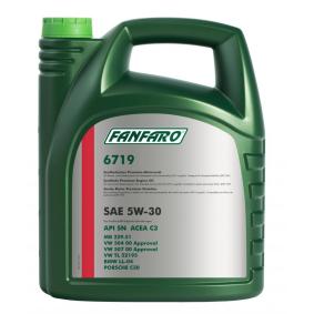 FF6719-5 FANFARO O.E.M. Line, 6719 LONGLIFE 5W-30, 5l Motoröl FF6719-5 günstig kaufen