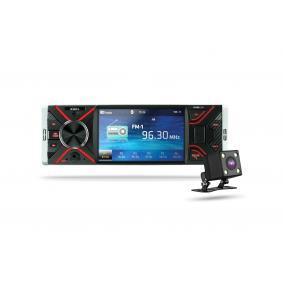 RF400 XBLITZ mit Fernbedienung, mit Kamera, USB, AUX in, 4,1Zoll, 1 DIN, 4 x 50W Bluetooth: Ja Multimedia-Empfänger RF400