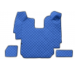 RH03 BLUE Tapis de voiture bleu F-CORE