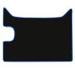 CMT03 BLUE F-CORE Set med golvmatta – köp online