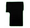 CMT08 GREEN Tapis de voiture vert F-CORE