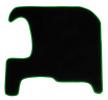 CMT09 GREEN Tapis de voiture vert F-CORE