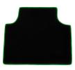 CMT14 GREEN Tapis de voiture vert F-CORE