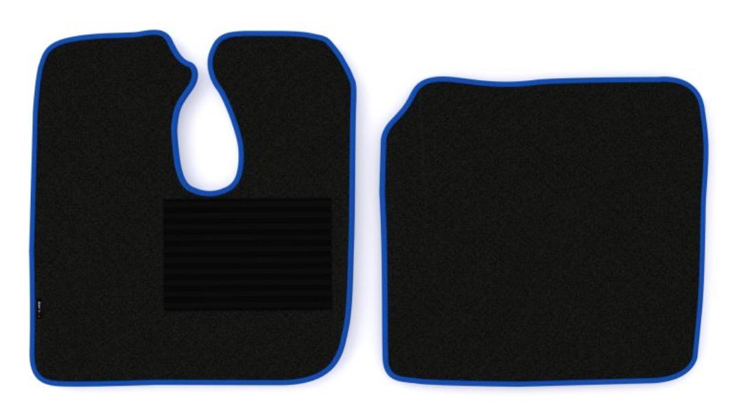 OE Original Passgenaue Fußmatten MT07 BLUE F-CORE