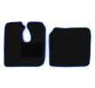 MT07 BLUE Tapis de voiture bleu F-CORE