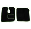 MT07 GREEN Tapis de voiture vert F-CORE