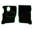 MT10 GREEN Tapis de voiture vert F-CORE