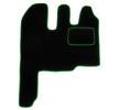MT19 GREEN Tapis de voiture vert F-CORE