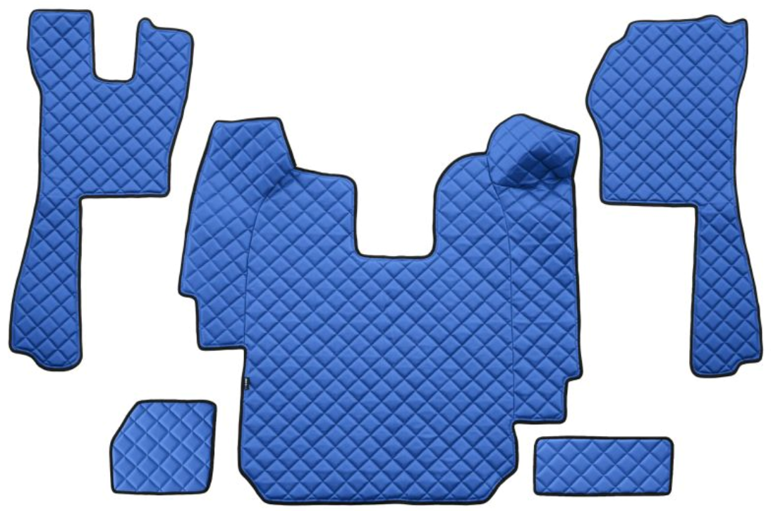 OE Original Passgenaue Fußmatten FL03 BLUE F-CORE