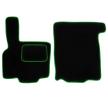 MT01 GREEN Tapis de voiture vert F-CORE