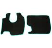 MT25 GREEN Tapis de voiture vert F-CORE