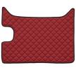 FZ07 RED Tapis de voiture Similicuir F-CORE