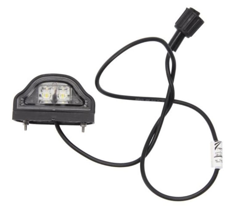 Illuminazione targa 36-3607-017 Aspock — Solo ricambi nuovi
