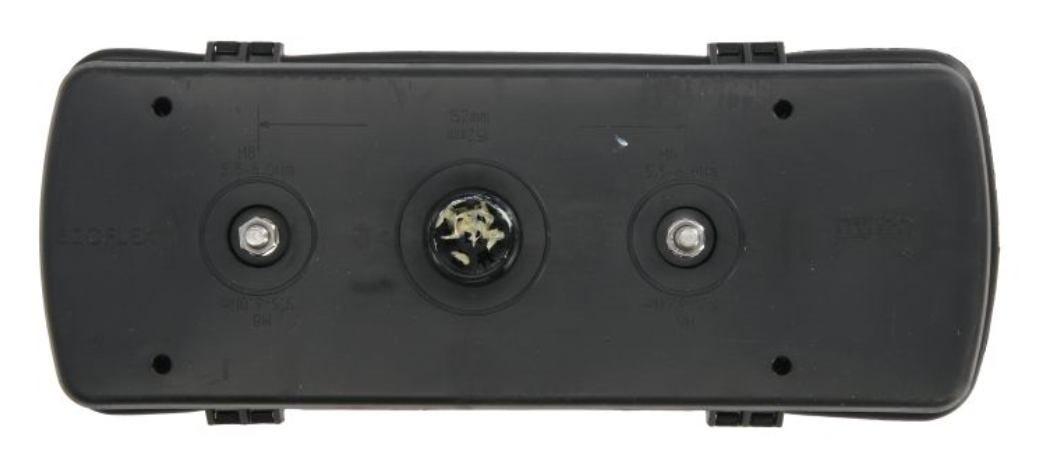 Aspock   Luce posteriore 25-2800-401