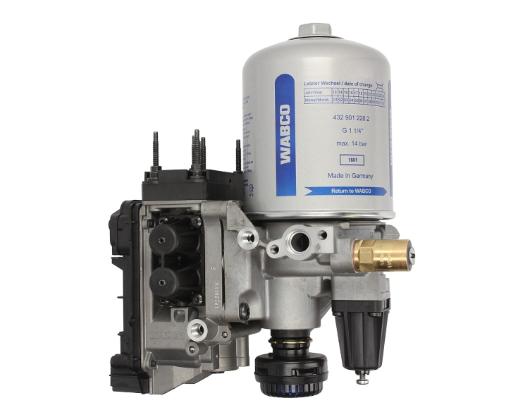 WABCO Lufttrockner, Druckluftanlage für SCANIA - Artikelnummer: 932 510 009 0
