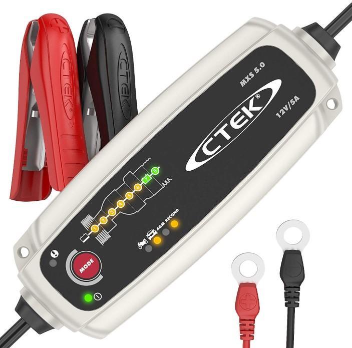 56-305 CTEK MXS, 5.0 Erhaltungsladegerät, tragbar, 5A, 12V, 1.2-110Ah Batterieladegerät 56-305 günstig kaufen