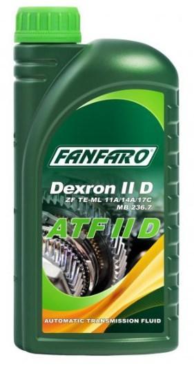 Купете FF8604-1 FANFARO ATF II D съдържание: 1литър, ATF II Масло за автоматична предавателна кутия FF8604-1 евтино