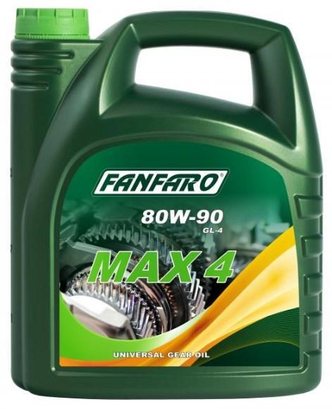 FF8701-4 FANFARO MAX 4 80W-90, Inhalt: 4l API GL-4, MIL-L 2105 Getriebeöl FF8701-4 günstig kaufen