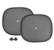 71057/01537 Cortinas de coche negro, Nylon, Cant.: 2 de AMiO a precios bajos - ¡compre ahora!