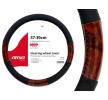 01358/71068 Protector de volante Ø: 37-39cm, PP (polipropileno), negro, marrón de AMiO a precios bajos - ¡compre ahora!