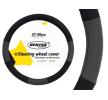 71070/01360 Fundas de volante Ø: 37-39cm, PP (polipropileno), negro, gris de AMiO a precios bajos - ¡compre ahora!