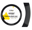 71070/01360 Capa do volante Ø: 37-39cm, PP (polipropileno), preto, cinzento de AMiO a preços baixos - compre agora!
